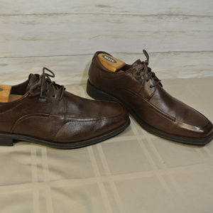 JOHNSTON & MURPHY FLEX 11.5 M Brown Moc Toe Shoe